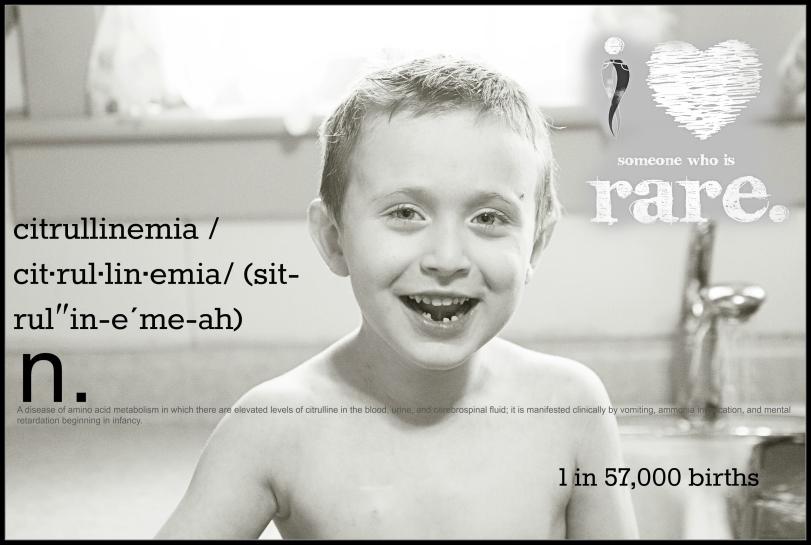 rare disease 2014 collage framed