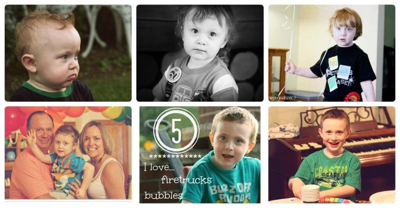 6 years of birthdays